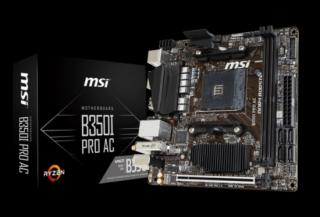 MSI B350I PRO AC AM4, DDR4, 1x PCI-E x16, 4xSATAIII, HDMI, DP, mITX, Coffee