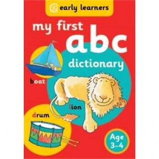 My First ABC Dictionary: Age 3-4 (9781855340299)