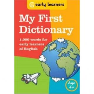 My first Dictionary: 1,000 words for early learners of English (9781855340305)