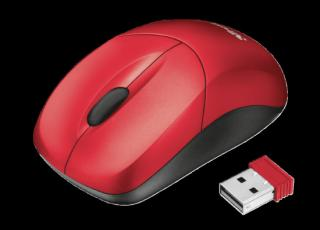 myš TRUST Inu Small Wireless Mouse - red, 22847