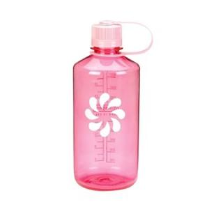 Nalgene Narrow Mouth Pink/flower 1000ml