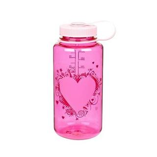 Nalgene Wide Mouth Heart Pink 1000ml (682010-0171)