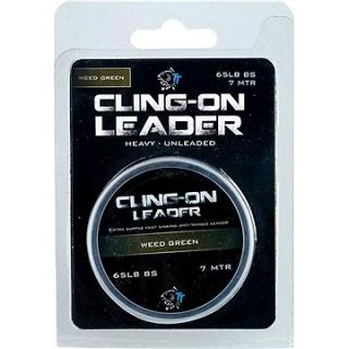 Nash Cling-On Leader 65lb 7m Weed Green (5055108984665)