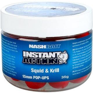 Nash Instant Action Squid & Krill 15mm 35g (5055108834496)