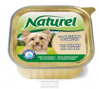 Naturel dog vanička Turkey&Rabit 150g-030023