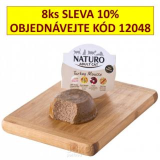 Naturo Cat Turkey Mousse 85g-11930