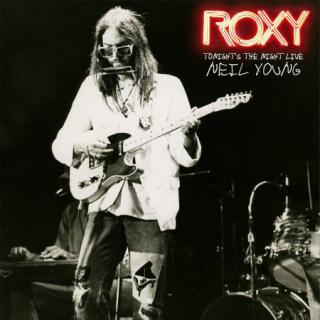 Neil Young : Roxy:tonights The Night Live LP