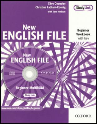 New English File Beginner Workbook with key   CD-ROM - Oxenden Clive