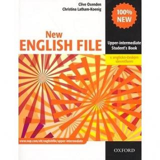 New English File Upper-intermediate Students Book: S anglicko-čekým slovníčkem