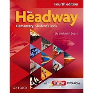 New headway Elementary Fourth Edition Students book   iTutor DVD-rom (978-0-947691-2-9)