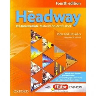 New Headway Pre-Intermediate Maturita Fourth Edition Student´s Book   iTutor DVD: Czech Edition
