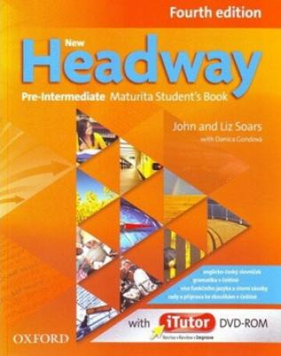 New Headway Pre-Intermediate Maturita Fourth Edition Student´s Book   iTutor DVD - Soars John, Soars Liz