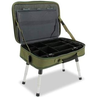 NGT Box Case Tackle Bag with Bivvy Table (5060211919398)