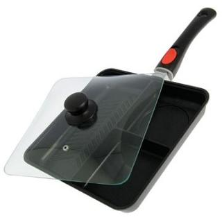 NGT Multi Section Frying Pan with Lid (5060382746021)