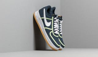 Nike Air Force 1 07 Premium Armory Navy/ White-Barely Volt