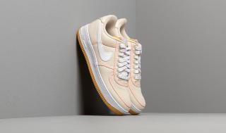 Nike Air Force 1 07 Premium Light Cream/ White-Crimson Tint
