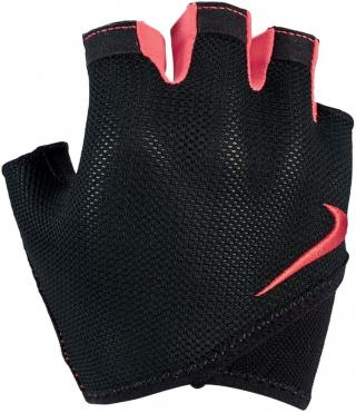 Nike WomenS Gym Essential Fitness Gloves - S - Black/Anthracite/Ember Glow