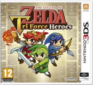 Nintendo 3DS The Legend of Zelda: Tri Force Heroes, NI3S71550