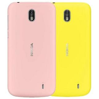 Nokia 1 Xpress-on Dual Pack (Pink and Yellow)  (1A21QGN00VA)