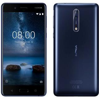 Nokia 8 Dual SIM Tempered Blue