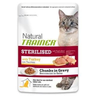 Nova foods Trainer Natural Sterilised Turkey - Výhodné balení 24 x 85 g