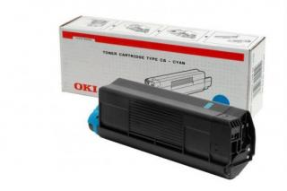 OKI Toner Cartridge, cyan, do C5100/5300/5200/5400, 5 000str, 42127407