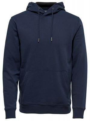 ONLY&SONS Pánská mikina Basic Sweat Zip Hoodie Brushed Noos Navy Blazer L