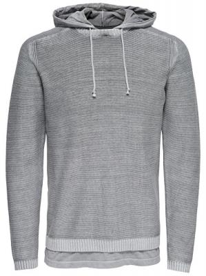 ONLY&SONS Pánská mikina Wincent 12 Hoodie Knit Griffin M