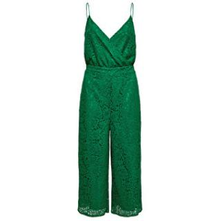 ONLY Dámský overal Cassia Strap Cropped S/L Jumpsuit Wvm Ultramarine Green 42
