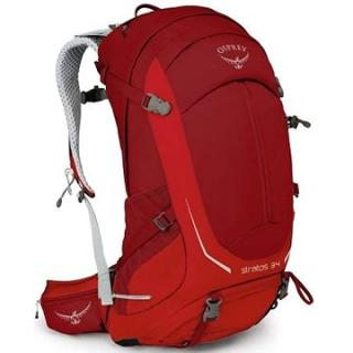 Osprey STRATOS 34 II Beet Red M/L (845136047563)