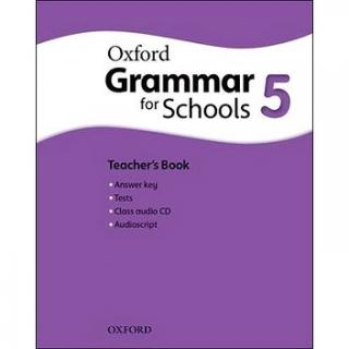 Oxford Grammar for Schools 5 Teacher´s Book with Audio CD (9780194559188)
