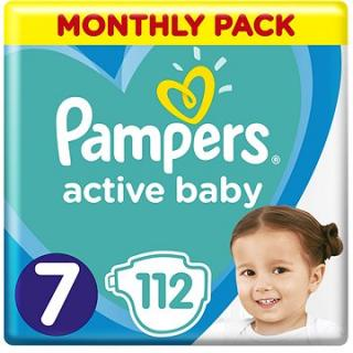 PAMPERS Active Baby vel. 7