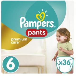 PAMPERS Pants Premium Care Extra Large vel. 6