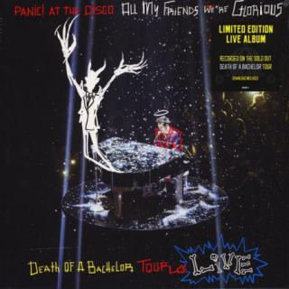 Panic! At The Disco : Glorious:death Of The Bachelor Tour Live LP