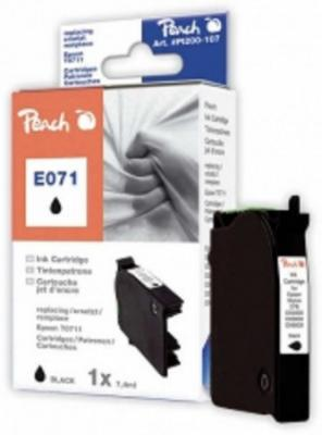 PEACH kompatibilní cartridge Epson T0891, Black, 8,1 ml, 312904