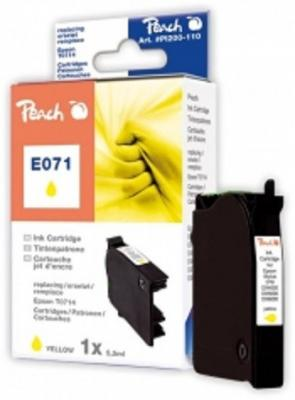 PEACH kompatibilní cartridge Epson T0894, Yellow, 6,2 ml