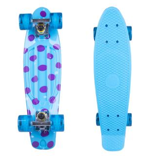 Penny board Fish Print DOTS 22