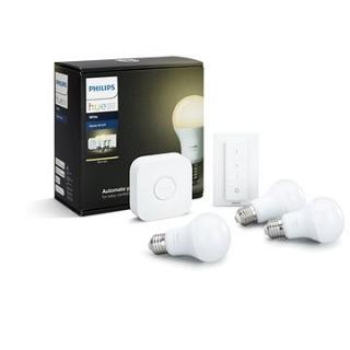 Philips Hue White 8.5W E27 starter kit  (929001137061)