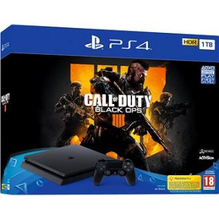 PlayStation 4 1TB Slim   Call of Duty: Black Ops 4 (PS719758112)