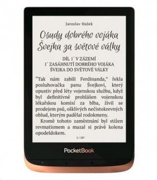 "POCKETBOOK 632 Touch HD 3, 6"" E-Ink SPICY COPPER, PB632-K-WW"