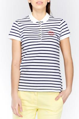 Polokošile BRETON STRIPE PIQUE SHORT SLEEVED