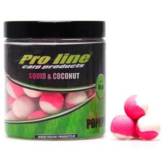 Pro Line Fluor Pop-Ups Squid & Coconut 15mm 80g (8718627249635)