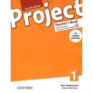 Project Fourth Edition 1 Teacher´s Book with Online Practice Pack (9780194704045)