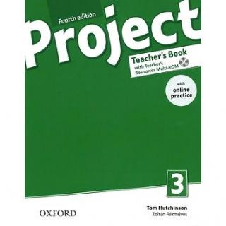 Project Fourth Edition 3 Teacher´s Book with Online Practice Pack (9780194704069)