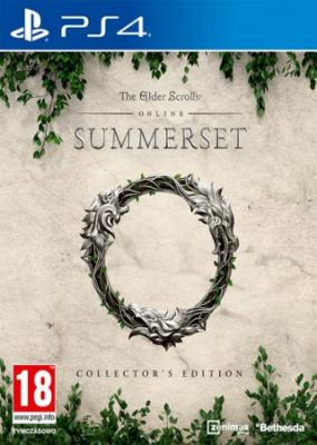 PS4 - ESP: The Elder Scrolls Online Summerset Collector's Edition