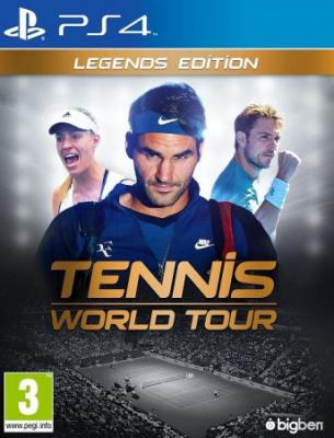 PS4 - Tennis World Tour: Legends Edition
