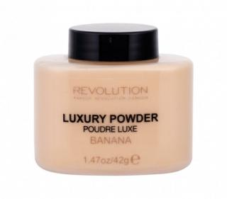 Pudr Makeup Revolution London - Luxury Powder Banana 42 g