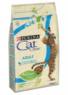 Purina Cat chow ADULT losos 1,5kg-6511