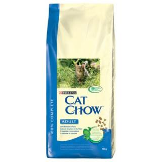 Purina Cat Chow Adult Salmon & Tuna - 15 kg