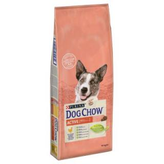 Purina Dog Chow Adult Active Chicken - 2 x 14 kg